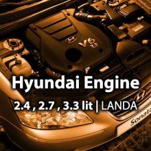 کارگاه موتورهای هیوندایی 3.3 و 2.8 و 2.4