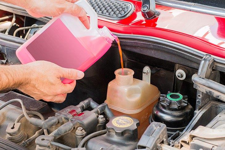 نگهداری سیستم خنک کاری خودرو