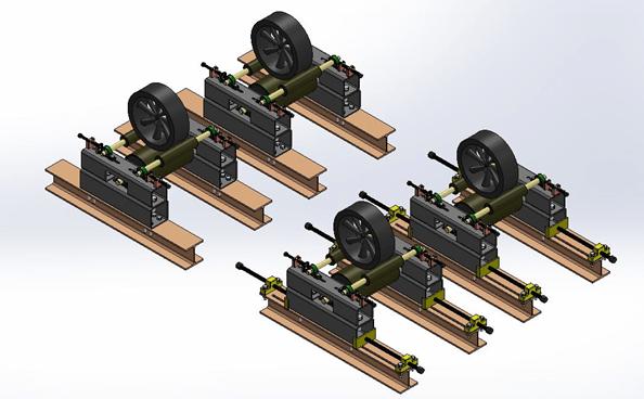 نمای کلی طرح در نرم افزار Solidworks